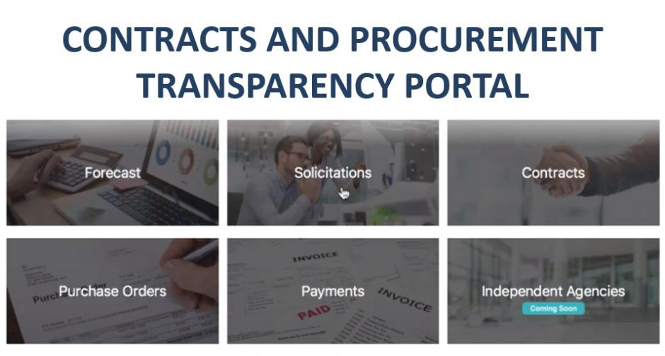 Introducing the OCP Contracts and Procurement Transparency Portal