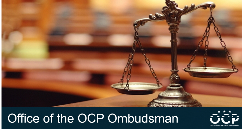Office of the OCP Ombudsman Main Graphic
