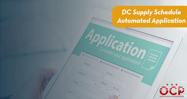 DC Supply Schedule Automated Application Carousel Graphic