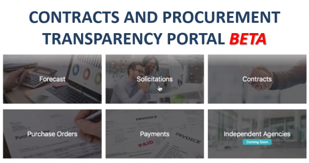 OCP Contracts and Procurement Transparency Portal Beta