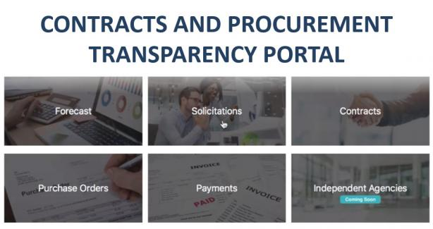 OCP Contracts and Procurement Transparency Portal