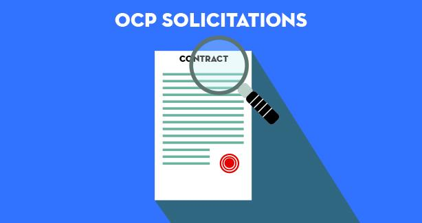 OCP Solicitations