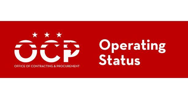 OCP Operating Status