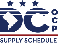 DC Supply Schedule Logo (Multi-Color)